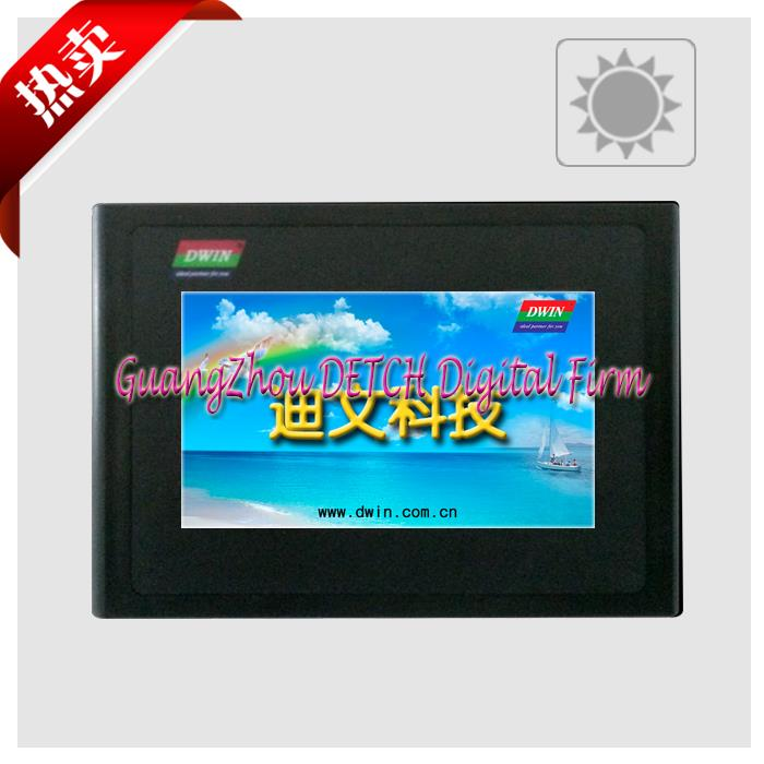 ФОТО The 4.3 inch DMT48270T043_16WT Devin DGUS industrial serial high brightness screen man-machine interface