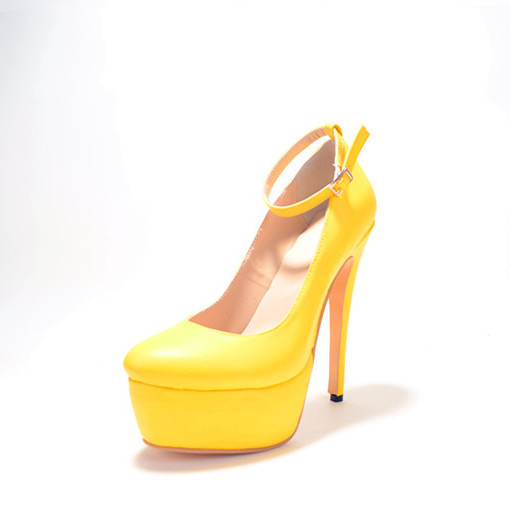 Compare Prices on Yellow Patent High Heels- Online Shopping/Buy ...