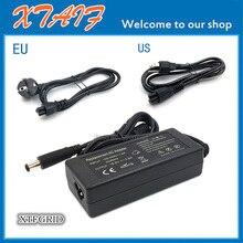 Wysokiej jakości 18.5V 3.5A 65w uniwersalna ładowarka AC/adapter dc z przewodem zasilającym do laptopa HP Compaq Presario CQ57 CQ 57