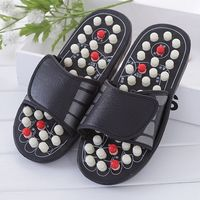 Foot Massage Slippers Shoe Sandal Reflex Health Care Acupuncture Point Feet Massager Shoes Care Slipper Meridian