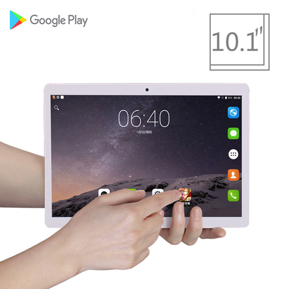 2019 New 10.1 inch tablet pc Android 7.0 Octa Core 4GB RAM 64GB ROM 8 Cores 1920*120 IPS Screen GPS Tablets 10 Gifts 6000mah 2019 New 10.1 inch tablet pc Android 7.0 Octa Core 4GB RAM 64GB ROM 8 Cores 1920*120 IPS Screen GPS Tablets 10 Gifts 6000mah