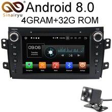Android 8.0 8 Core 4G RAM Car DVD GPS For SUZUKI SX4 2006 2007 2008 2009 2010 2011 2012 WIFI Autoradio Multimedia Stereo