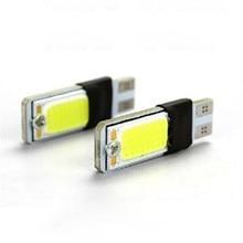 Luces externas canbus de 5w y 10 w, sin error, 10 led cob, 5w, 12v, estacionamiento automático, Bombilla blanca, estilo IL, 10 Uds.