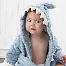 Вышитое мягкое детское платье; банный халат; дизайн с животными; Одежда для младенцев; FJ88