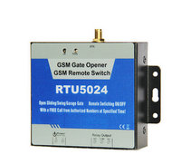 Free Shipping RTU5024 GSM Garage Swing Sliding Gate Wireless Door Opener Access Control For 200 Users