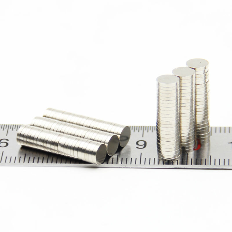 Retail Wholesale 3000pcs 5mm x 1mm Disc Rare Earth Neodymium Super Strong Magnets N35 Craft Model