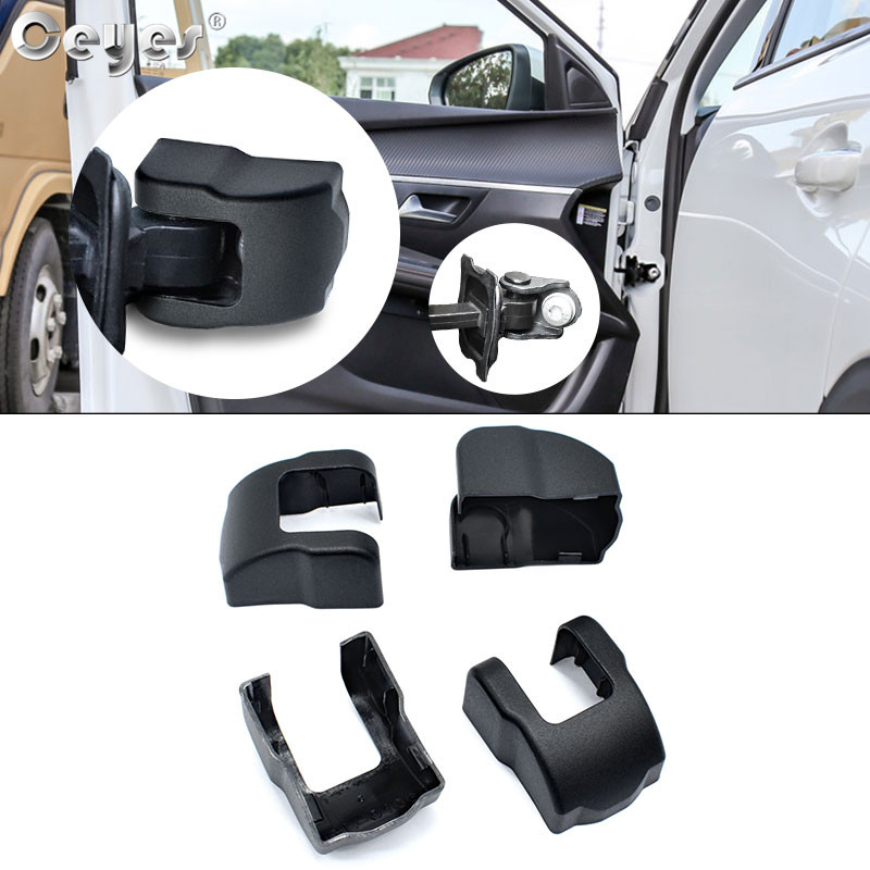 Akcesoria samochodowe Ceyes stylizacja ochrona i ozdoba na drzwi blokada korka ograniczenie klamry ramię pokrowiec na forda Focus Escort darmowa wysyłka