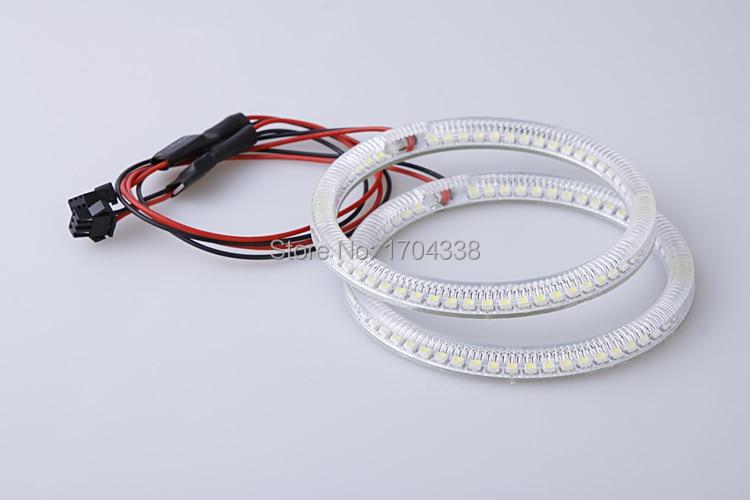 1 SET Xenon λευκό E36 E38 E39 E46 Led άγγελος μάτια - Φώτα αυτοκινήτων - Φωτογραφία 5