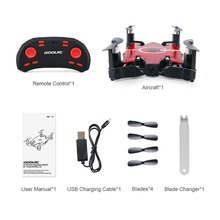 Foldable G-sensor RC Mini Drone 6-Axis WIFI FPV 720P HD Camera Drone Headless Mode Quadcopter Toy for Kids