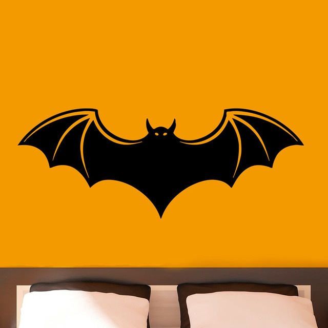 Vampire Bat Vinyl Wall Sticker Home Interior Decoration Art Stickers Decals Decor Aelf Adhesive