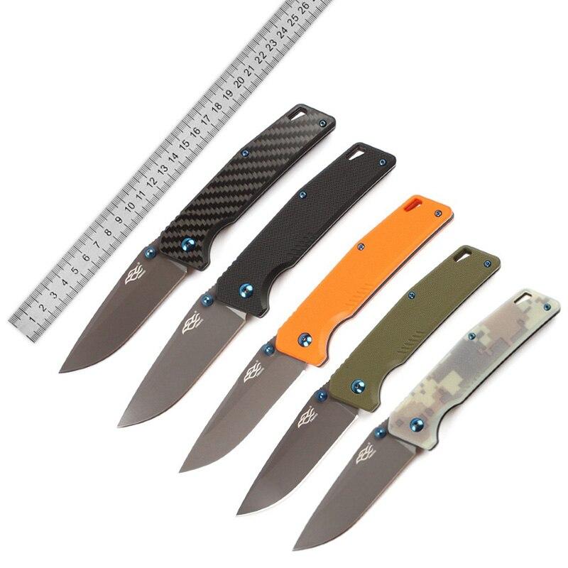 Ganzo FB7603 Super Militari Folding knife 440C Blade G10 Handle Hunting Camping Survival Tactical Utility Firebird EDC knives ganzo firebird fb7603 or