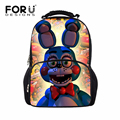 Cute Five Nights At Freddys Cartoon Children School Bags Brand Women Backpack for Teenager Girls Kids Students Schoolbag Mochila