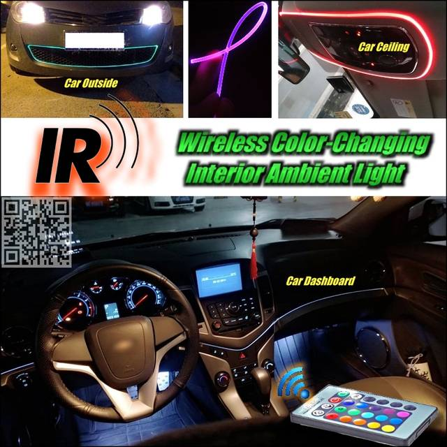 Online Shop Wireless Ir Control Novovisu Car Interior Ambient