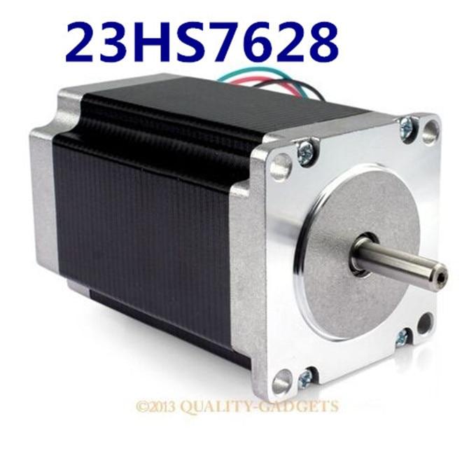 2pcs 23HS7628 4-lead Nema 23 Stepper Motor 57 motor NEMA23 2.8A CE ROSH ISO CNC Laser Grind Foam Plasma Cut 4 lead nema 17 stepper motor 42byghw609 56oz in 40mm 1 7a ce rosh iso cnc laser grind foam plasma cut