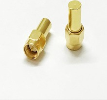 20 pçs/lote 1 w SMA plugue macho RF coaxial Cargas Terminação manequim DC 3GHz Adaptador 50ohm