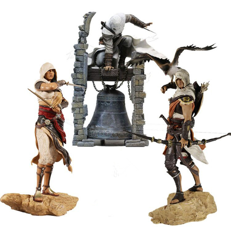 Creed Origini Bayek Aya   Altair The Legendary Assassin Figure PVC Brinquedos Action Figure Collectible Model Toys Gifts 28cmCreed Origini Bayek Aya   Altair The Legendary Assassin Figure PVC Brinquedos Action Figure Collectible Model Toys Gifts 28cm