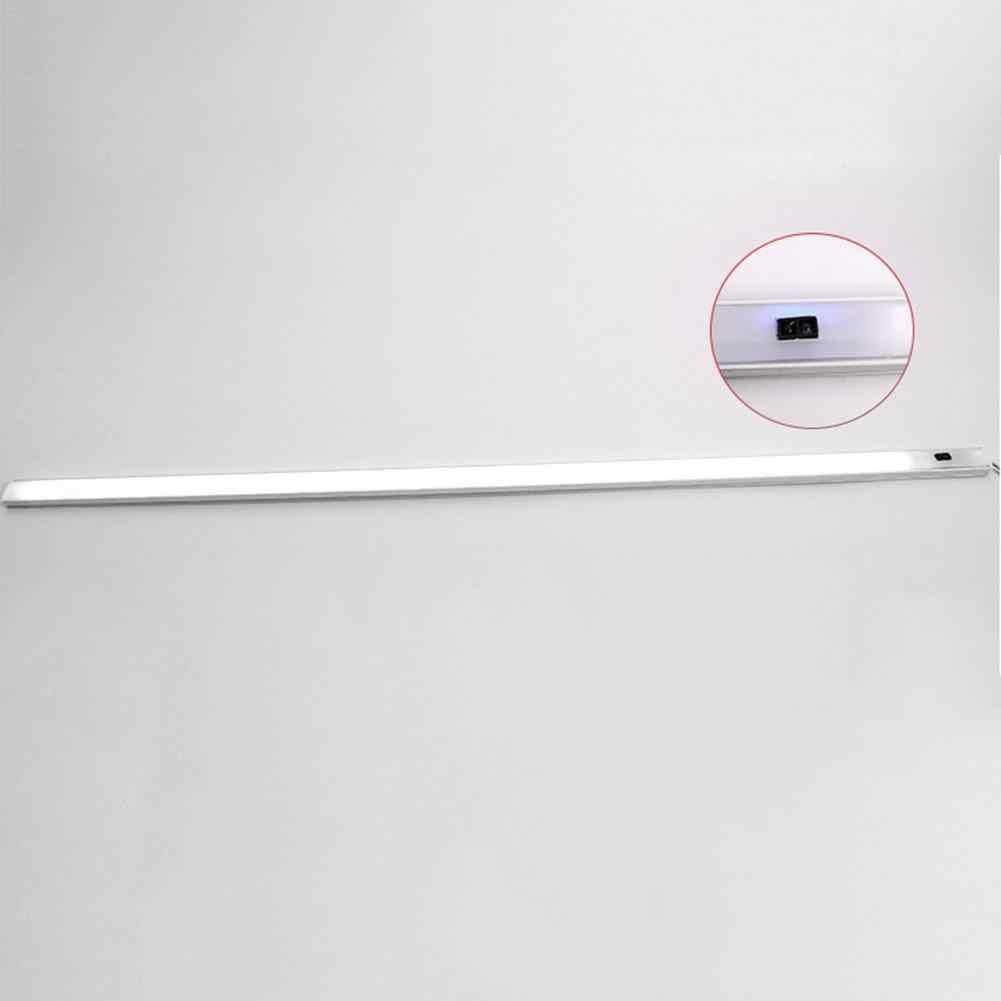 30/50 см 12 В DC Сенсор светодио дный бар свет Кухня кабинет свет Светодиодные ленты бар света освещения для автомобиля Китч Дисплей кабинета