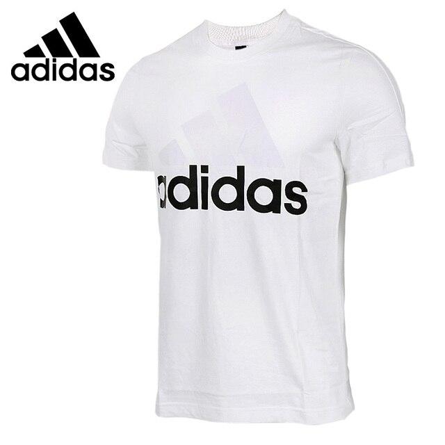 Original New Arrival 2017 Adidas ESS LINEAR TEE Men's T-shirts short sleeve  Sportswear