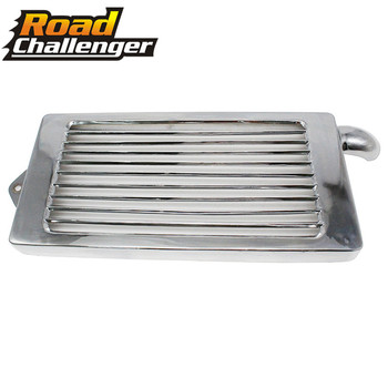 Motorcycle Radiator Water Cooler Protection Guard Cover For  HONDA VTX1800 Radiator Grille Grill Guard Cover