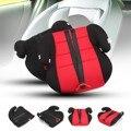 Nuevos Niños Pad Agudización Con Cinturón de Seguridad Silla de Coche Asiento de Seguridad Para Bebés y Niños Rojo Negro