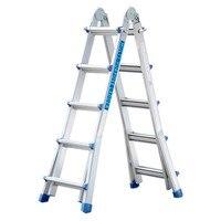 Нескользящий прочный Замена Шаг Лестница ноги ног многофункциональная, из алюминиевого лестница для дома и на открытом воздухе с помощью