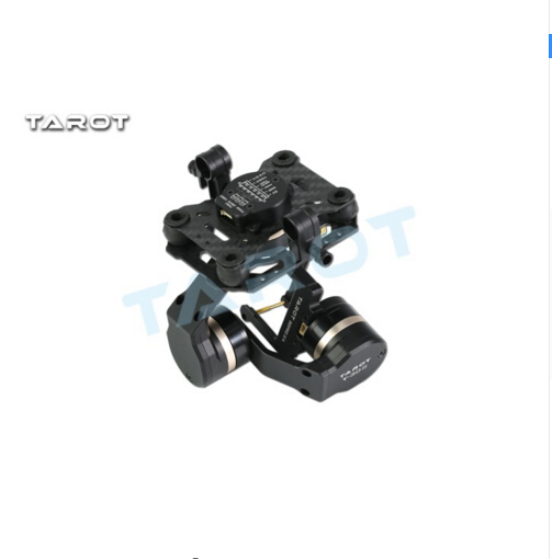 F17391 Tarot TL3T01 Update from T4 3D 3D Metal 3 axle Brushless Gimbal for GOPRO 4 / 3+/ 3 FPV Photography - 5