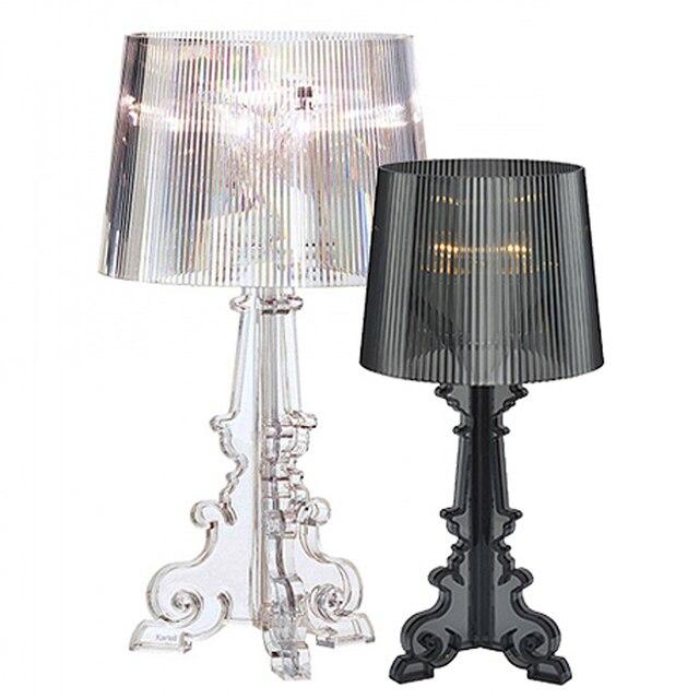 Decorative Desk Lamps aliexpress : buy modern table lamp acrylic abajur ghost