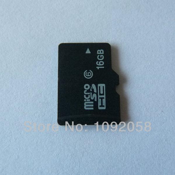 1 ШТ. Бесплатная доставка реальная емкость 16 ГБ класс 6 Карта Micro Sd с SD адаптер