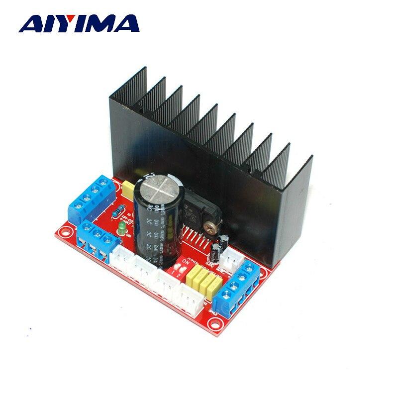 Aiyima TDA7850 Audio Amplifier Board Fever MOSFET HIFI 4 Channel Car Amplifier Board 4X50W DC12-18V lcd32b66 l frequency board amplifier board 40 l2726a nid2x