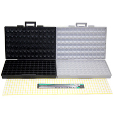 AideTek BOX-ALL caja caja caja CAJA + seguridad ESD SMD IC diodo UK caja DE plástico buque parte BOXALLCOMBO