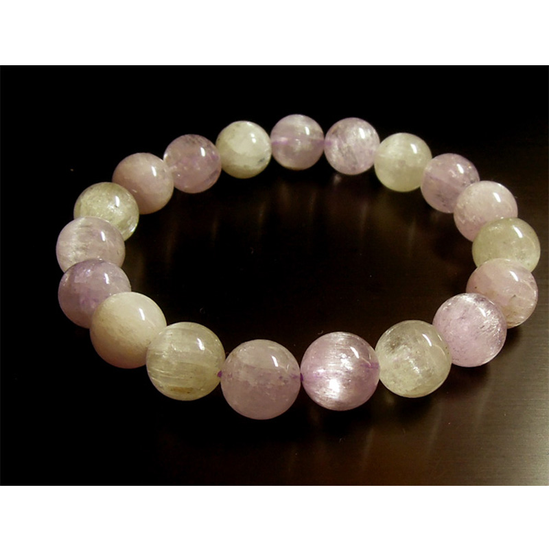 Wholesale Natural Kunzite Stretch Women's Bracelet Round beads 10mm Genuine Spodumene 02636 палантин sophie ramage sophie ramage so037gwelvu6