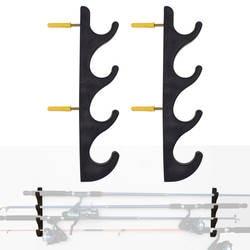 Горизонтальные подставка для удочки Рыбалка держатель удочки для хранения полюс держатель-2/PK-без удочка