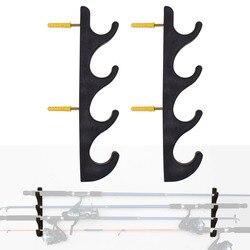 Support de canne à pêche horizontale support de canne à pêche support pour mât de stockage de pôle de pêche-2/PK-pas de canne à pêche
