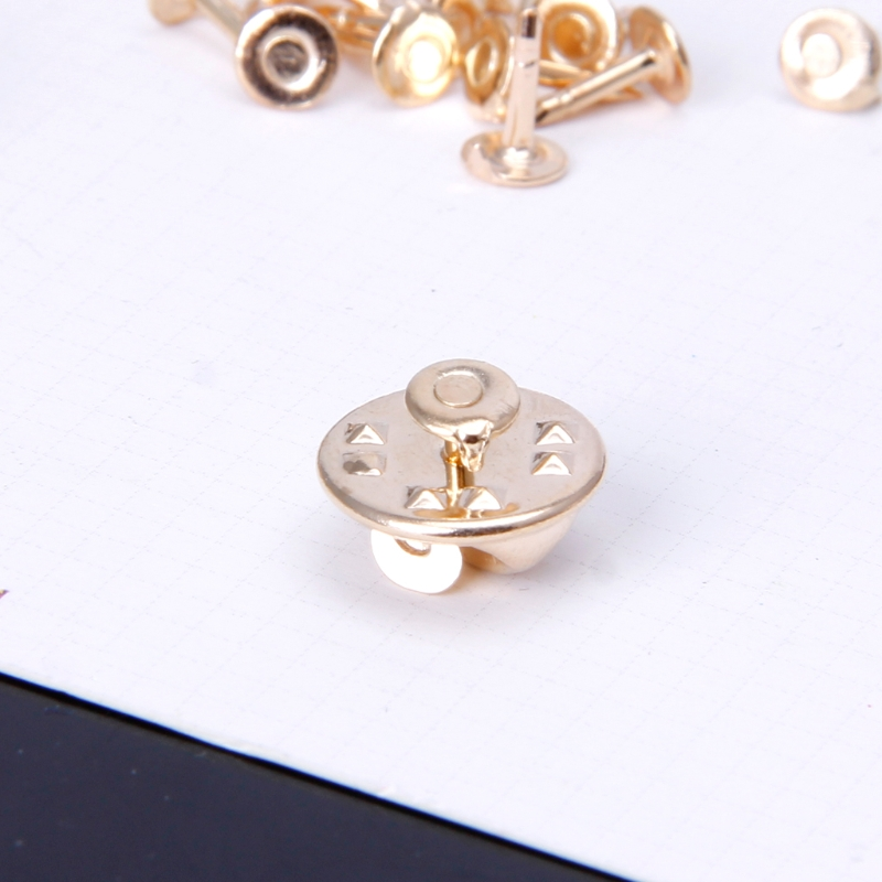 96ac30dae326 200pcs DIY Brooch Round Clasps Pin Tie Tacks Blank Pins with Clutch Back  Sliver-in Brooches from Jewelry & Accessories on Aliexpress.com   Alibaba  Group