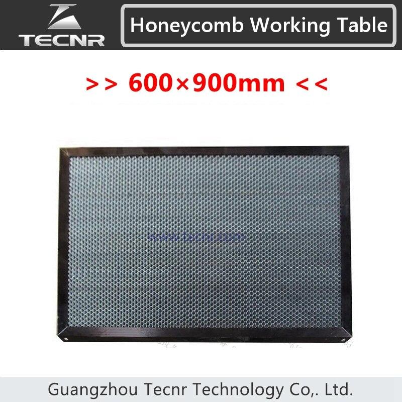 Table fonctionnante de nid d'abeilles 600*900 MM pour des pièces de machine d'équipement de laser de découpeuse de laser de CO2