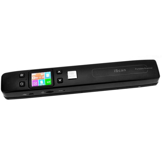Portable Digital Wifi Scanner for Documents / Books / Photos with Double Zero Margin 1050DPI JPG / TF Card PDF Format