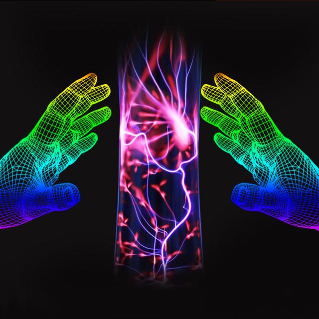 Free envio novo estilo bola de plasma plasma ball esfera de luz da lâmpada mágica de cristal e férias lâmpada 10 w 12 v