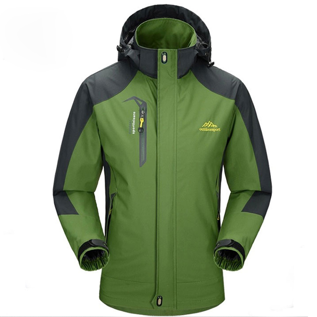 Waterproof Spring Hooded Men's Jackets