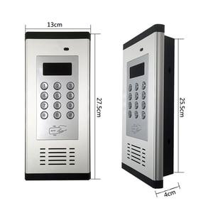 Image 5 - 3G GSM Control ระบบ Intercom รองรับบัตร RFID สำหรับอพาร์ทเม้นท์ทำงานสำหรับ 200 ห้องเจ้าของ K6