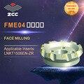 ZCC. CT оригинальные торцевые фрезы FME04 высокопроизводительные токарные инструменты с ЧПУ Индексируемые фрезерные инструменты