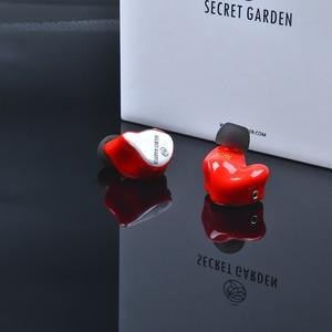 Image 5 - The Fragant Zither TFZ SECRET GARDEN In Ear Earphone HIFI Monitor IEM Sports Earphones 2Pin Headset Heavy Bass Stage DJ Earbud