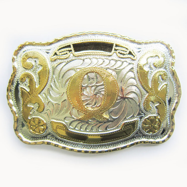 Retail Distribute Initial Letter Western Cowboy Belt Buckle BUCKLE-WT078 Free Shipping
