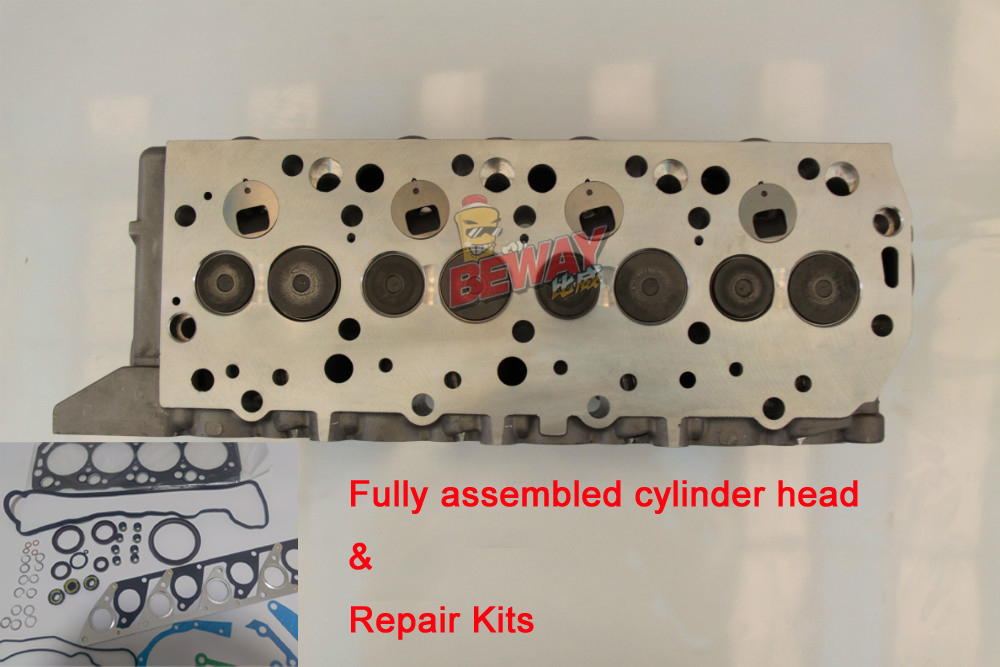 US $443 82 |4D55/T 4D56/T complete Cylinder Head Assy MD185918 & Repair  Kits For Mitsubishi Pajero/L300/L200/Delica Hyundai Galloper 2 5TD-in  Cylinder