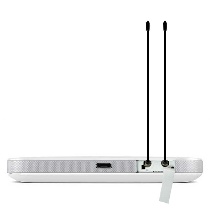 Dlenp 2 個 4 4G LTE アンテナと TS9 または CRC9 Huawei E398 E5372 E589 E392 Zte MF61 MF62 aircard 753 s 5dbi 利得