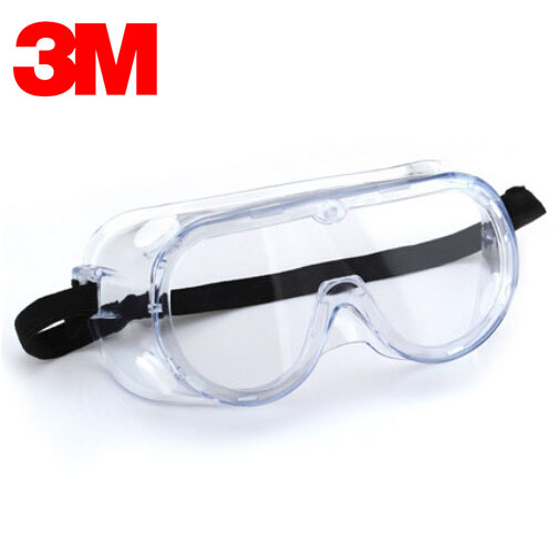 3M 1621 Safety Goggles Windproof Sand Protective Glasses Anti-uv  Eyewear Transparent Lens G5635
