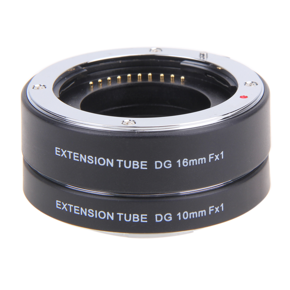 High Quality 10mm 16mm Lens Adapter Auto Focus Macro Tube for Fuji FX Camera X Pro1