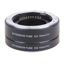 Высокое Качество 10 мм 16 мм Переходное кольцо Автофокус Макро Tube for Fuji FX Camera X-Pro1 X-E1 X-E2 X-М1 X-A1 X-E2 X-M1 X-E1 X-Pro1