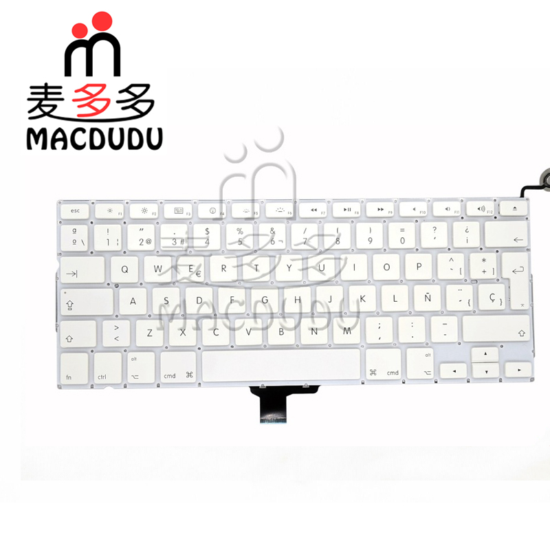 New SP 13 inch For MacBook A1342 Spanish Keyboard 2009