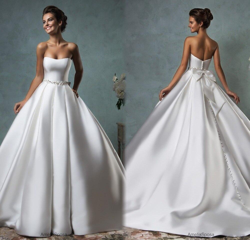 Robe De Mariage Romantic New Long Wedding Dress 2017