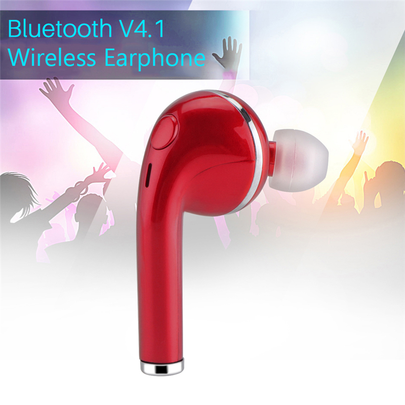 V4.1 In-ear Offical Wireless Bluetooth Earphone I7 TWS Headset Music Earbud For iPhone Samsung Xiaomi Huawei Samsung Head Phone 2017 scomas i7 mini bluetooth earbud wireless invisible headphones headset with mic stereo bluetooth earphone for iphone android